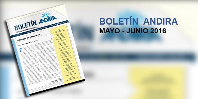 Boletin Andira Mayo-Junio 2016