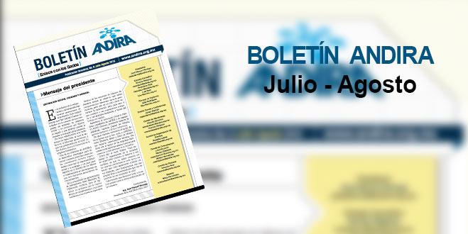 Boletin Andira Julio – Agosto 2016