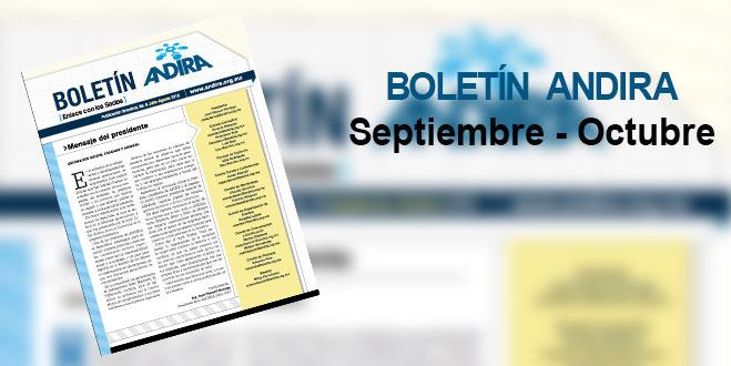Boletin Andira Septiembre – Octubre 2016